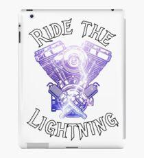 Ride the Lightning iPad Case/Skin