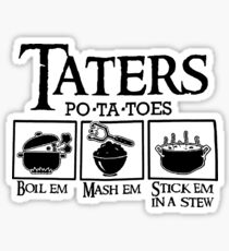 Taters Sticker