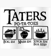 Taters Poster