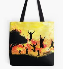 Elated 3 Tote Bag