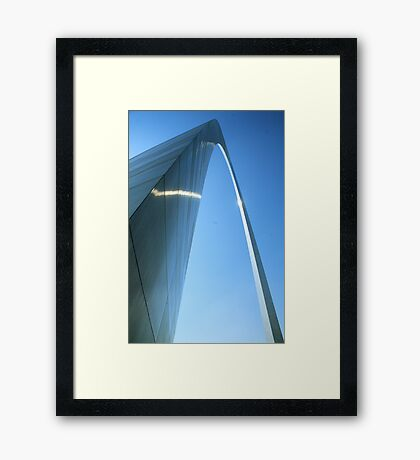 The St. Louis Arch Framed Print