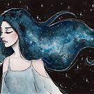 Milchstraße - Galaxy Haar Serie 4/4 von ARiAillustr