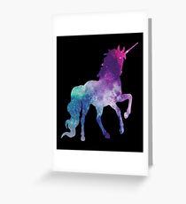 Magical beautiful Sparkly Unicorn  Greeting Card