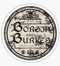 Borgja & Burkes Sticker