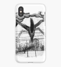 Will Drawing v2 (Stranger Things 2) iPhone Case/Skin