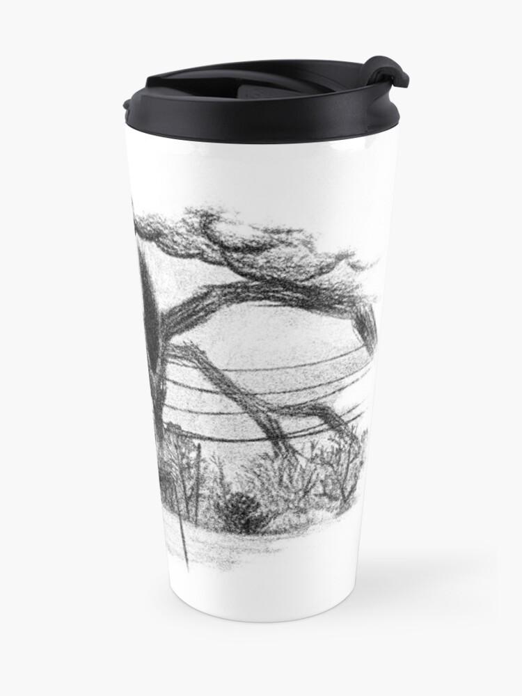 Alternate view of Will Drawing (Stranger Things) Travel Mug
