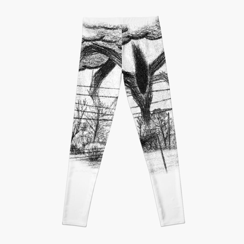 Will Drawing (Stranger Things) Leggings
