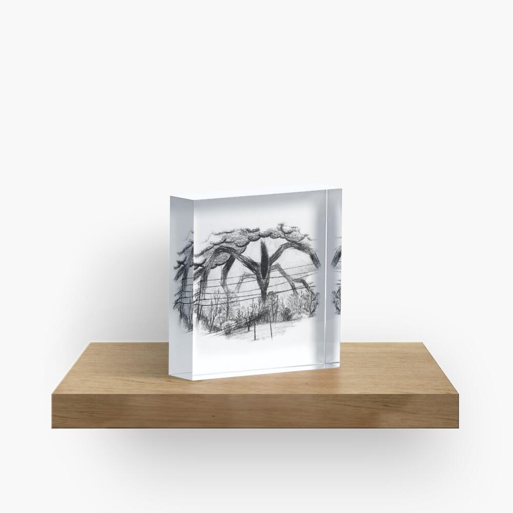 Will Drawing (Stranger Things) Acrylic Block