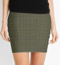 00110 Cape Breton (yellow stripes) District Tartan  Mini Skirt