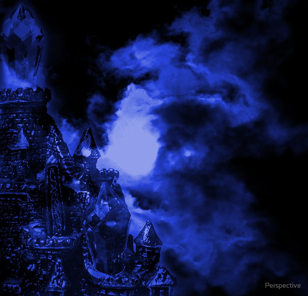 Blue Castle by Perspective