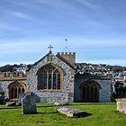 St Michaels Church...Lyme Dorset UK by lynn carter