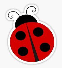 Cute Ladybug Fun Insect Sticker
