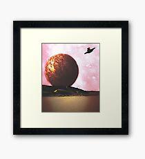 Distant World Framed Print