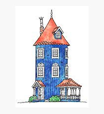 The moomin house Photographic Print