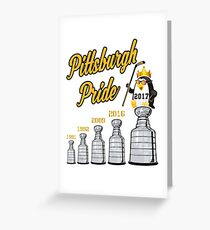 Pittsburgh Hockey Pride Greeting Card