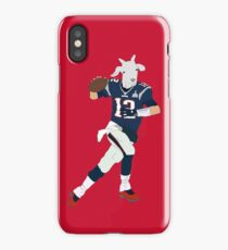 Tom Brady, The GOAT iPhone Case/Skin