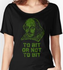 To bit or not to bit Women's Relaxed Fit T-Shirt