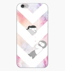 Watercolor Graphic - Pink iPhone Case