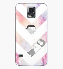Funda/vinilo para Samsung Galaxy Gráfico de acuarela - Rosa