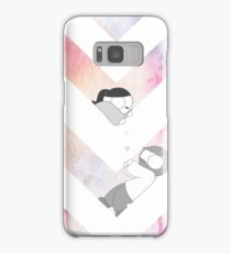 Watercolor Graphic - Pink Samsung Galaxy Case/Skin