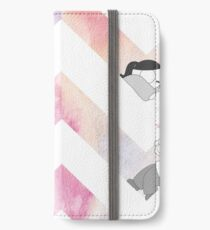 Watercolor Graphic - Pink iPhone Wallet/Case/Skin