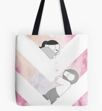 Watercolor Graphic - Pink Tote Bag