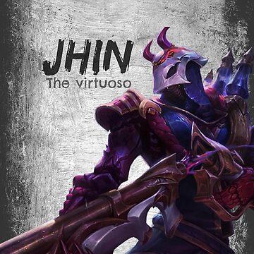 Jhin Phone Case by Touzen-