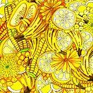 Abundant Harvest of All Things Yellow by Cherie Roe Dirksen