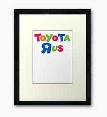Toyota toyotarus fan celica Prius Corolla mr2 Framed Print