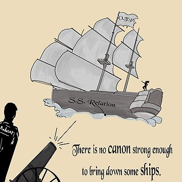 """""""There is no Canon strong enough to bring down some Ships"""" by CiipherZer0"""
