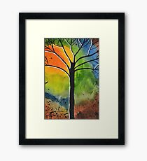 Sun Rise in the West Framed Print