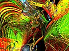 Three Layer Blender #2: Brainheart abstract (UF0362) by barrowda