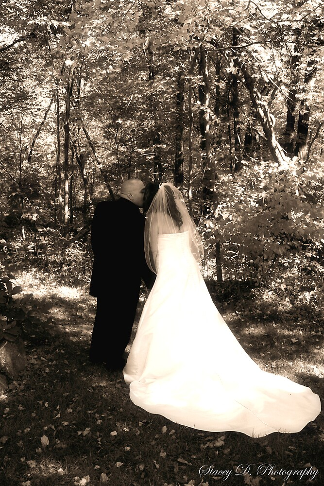 Happy Couple..In Sepia by Stacey Milliken