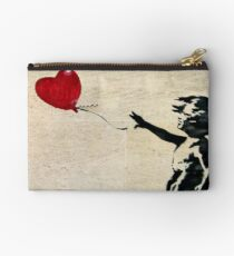 Banksy's Girl with a Red Balloon III Studio Pouch