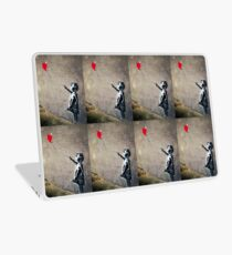 Banksy's Girl with a Red Balloon II Laptop Skin