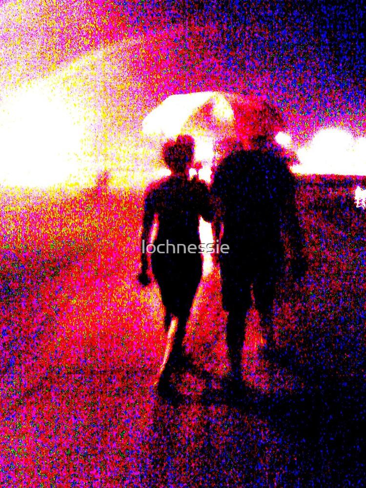 love in the rain by lochnessie