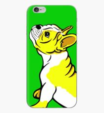 Vinilo o funda para iPhone Boston Bull Terrier Puppy Yellow
