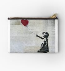 Banksy's Girl with a Red Balloon Studio Pouch