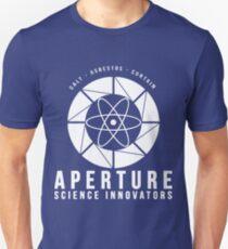 Portal Aperture Wissenschaft Slim Fit T-Shirt