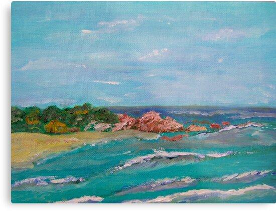Playa Punta Mexico Puerto Escondido by Lovemydesigns