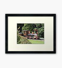 Eureka Steam Train Framed Print