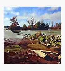 Shady Island - Steveston BC Photographic Print