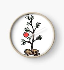 Charlie Brown Tree Clock