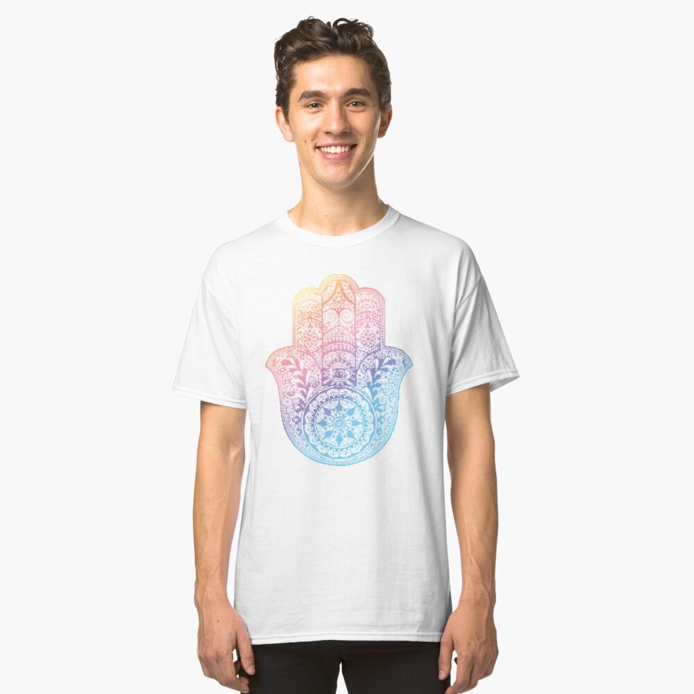 Regenbogen Hamsa Classic T-Shirt