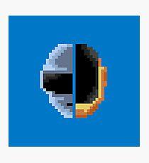 Daft Punk Pixelart Photographic Print