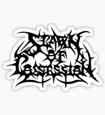 Band Spawn of Possession Logo Black Sticker