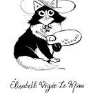 #meowdernart - Elisabeth Vigée Le Miau by mariapaizart