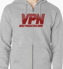 VPN - Video Production News Zipped Hoodie