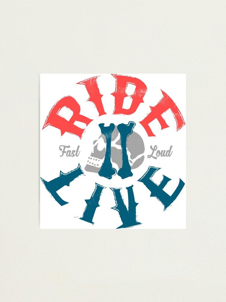 Alternative Ansicht von Ride 2 Live Fotodruck