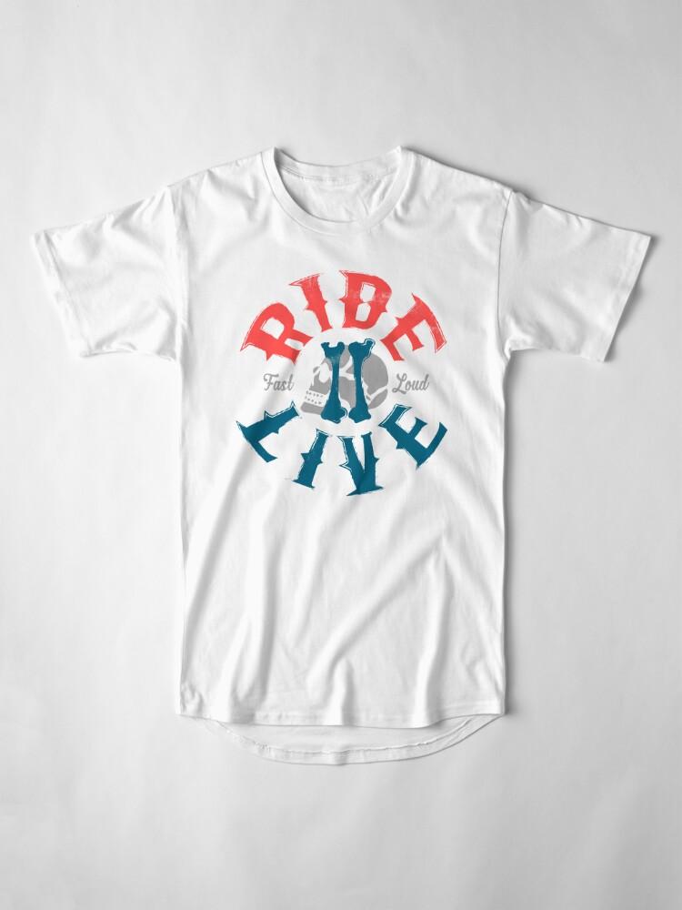 Alternative Ansicht von Ride 2 Live Longshirt